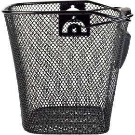 KlickFix Uni Cestino Con supporto per faretto, nero